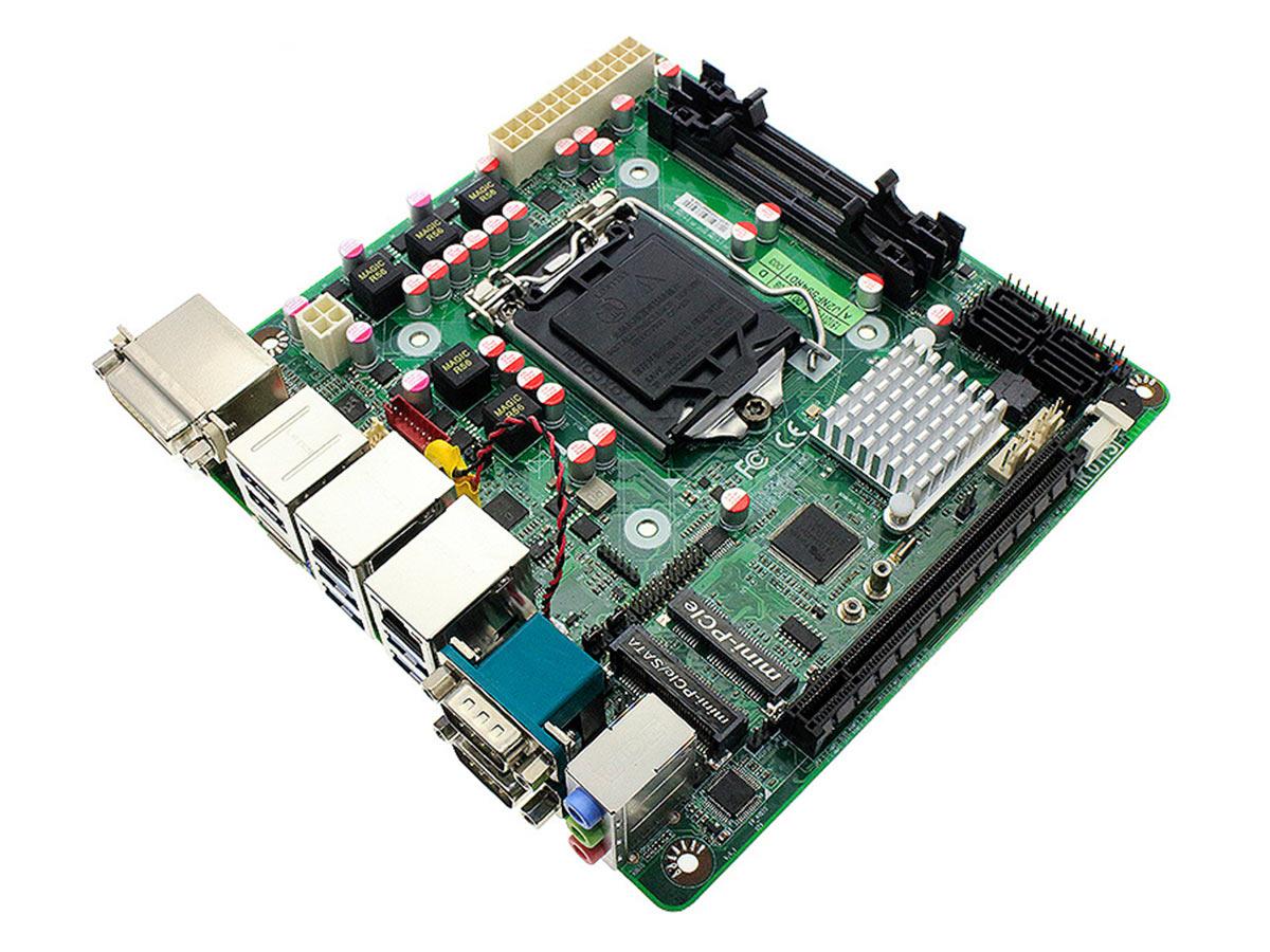 Jetway Jnf594 Q170 Motherboard Intel Pentium G4600 36ghz Kabylake Socket 1151 Long Life Mini Itx Board With 2x Lan 4x Sata 6gb S Serial Display Port Hdmi And Dvi