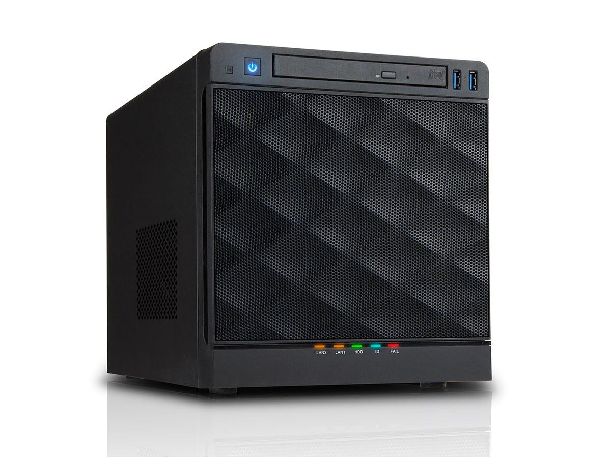 mini-itx com: IN WIN MS04 Mini Server Tower 265W case
