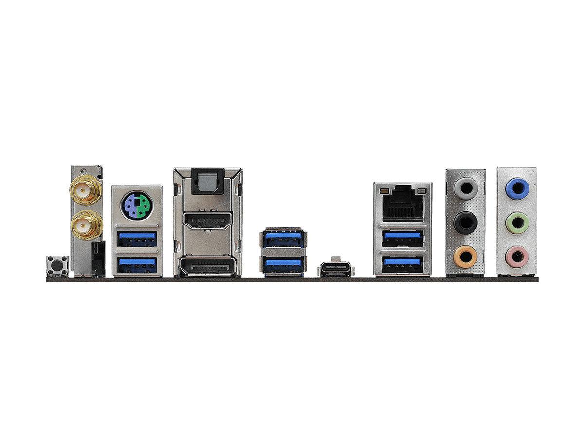 mini-itx com: ASRock Fatal1ty Z370M GAMING-ITX/ac motherboard