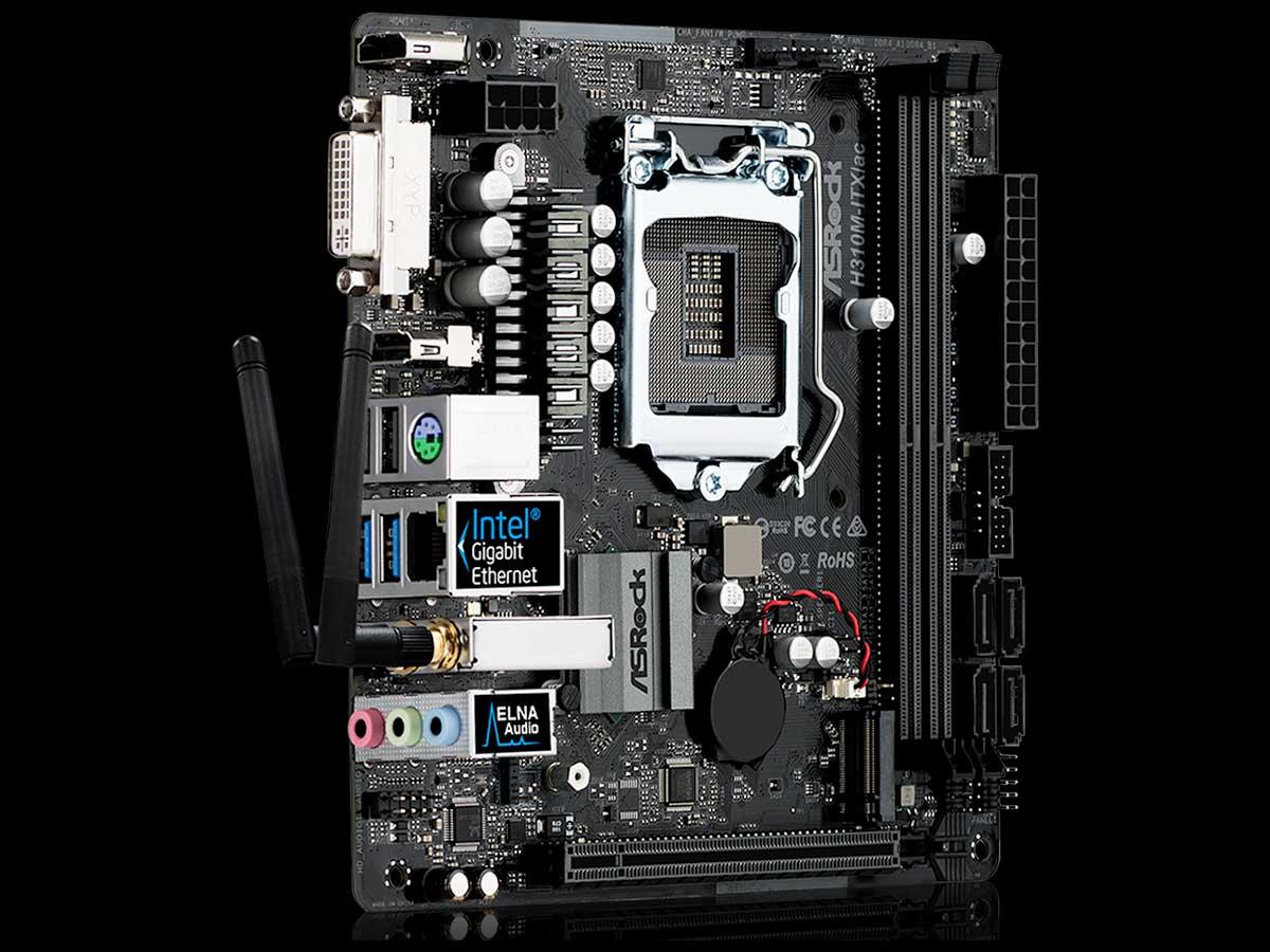 mini-itx com: ASRock H310M-ITX/ac motherboard
