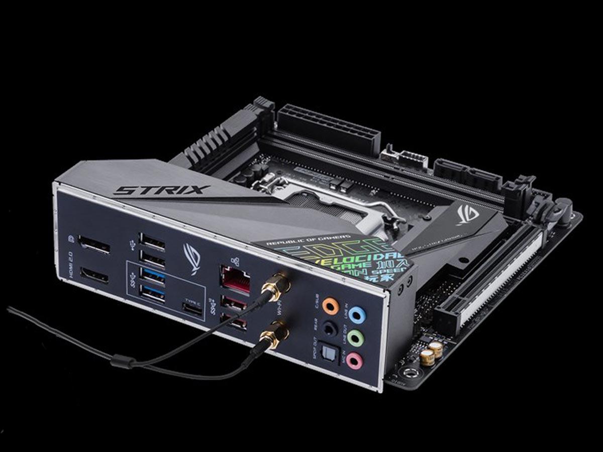 mini-itx com: Asus ROG STRIX Z390-I GAMING motherboard