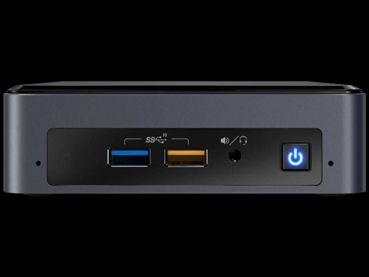 mini-itx com: Intel NUC8i5BEK Mini PC